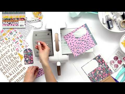 How to Use Nested Jumbo Tag Die to Make a Beautiful Gift Tag