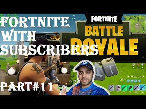 FORTNITE WITH SUBSCRIBERS HINDI part 11 Ps4