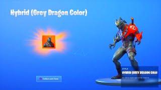 fortnite season 8 hybrid stage grey dragon color unlocked fortnite season 8 hybrid - como dibujar fortnite temporada 8