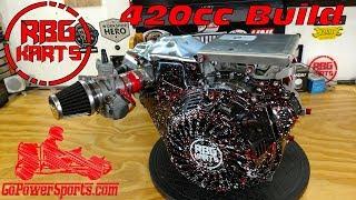 420cc Predator Stage 2 Engine Build ~ Billet Rod, Billet