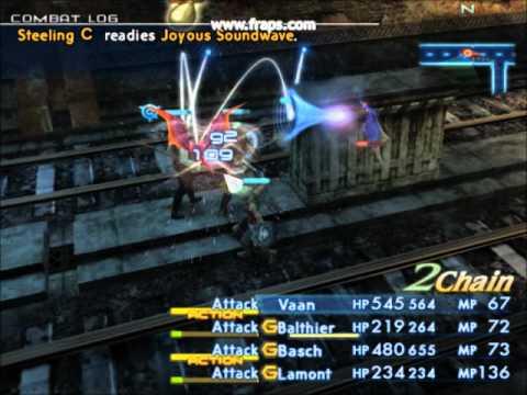 Final Fantasy XII international job sistem on pcsx2 0.9.7