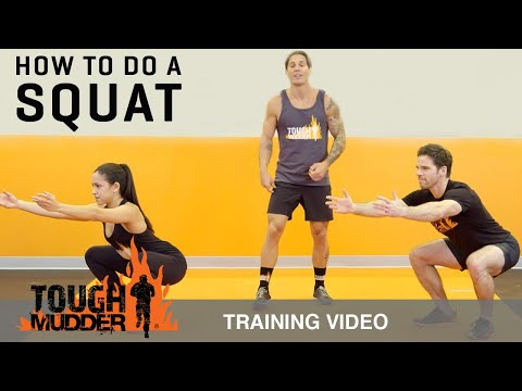 How to Squat Properly: Squat Variations for ALL Fitness Levels | Tough Mudder