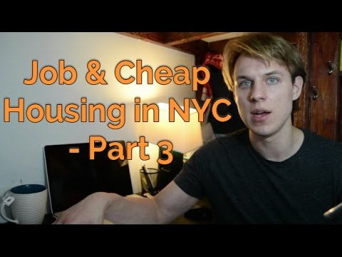 How to Find a Job & Cheap Housing in New York
