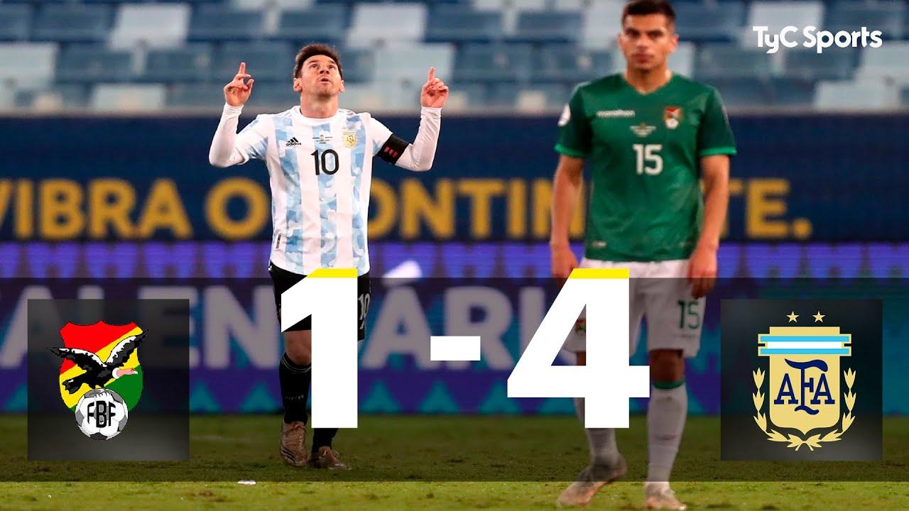 Bolivia 1-4 Argentina I Copa América 2021