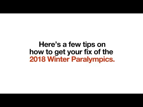 Watching Winter Paralympics on the go   Go Binge (2018)   Three