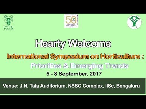 International Symposium on Horticulture : Priorities & Emerging Trends