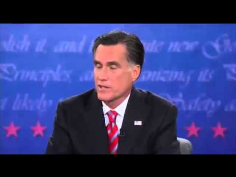 3rd Presidential Debate: Romney Wants to Get Rid Of  Obamacare
