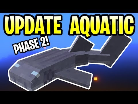 Minecraft Update Aquatic Phase 2 Release Date!? PE, PS4, Xbox One & Switch