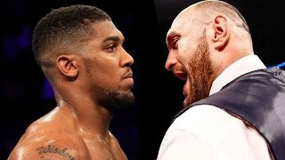 (WOW!) ANTHONY JOSHUA & TYSON FURY WAR OF WORDS ERUPTS; EXCHANGE NASTY INSULTS & ISSUE CHALLENGES