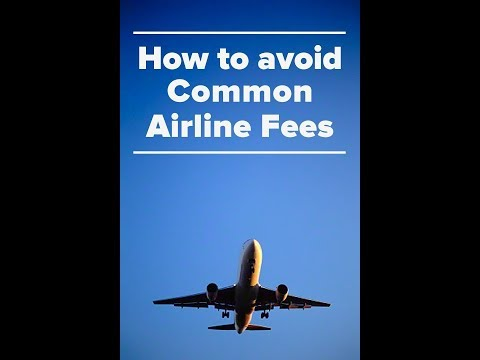 How To Avoid Hefty Airline Charges For Checked In Luggage