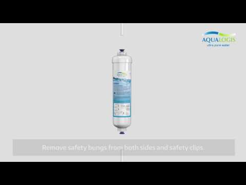 How To: Replace Refrigerator Water Filter DA29-10105J HAFEX/EXP In Your Samsung Side By Side Fridge