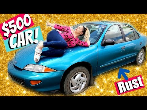 GET READY WITH ME IN MY $500 1998 CAVALIER.