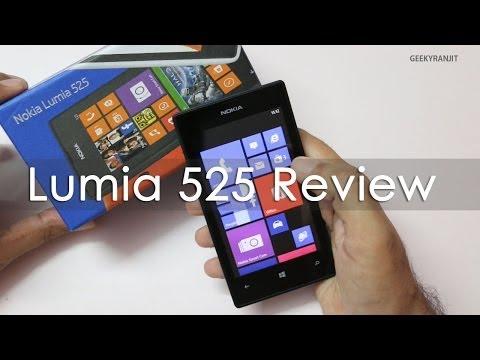 Nokia Lumia 525 Windows Phone 8 Review