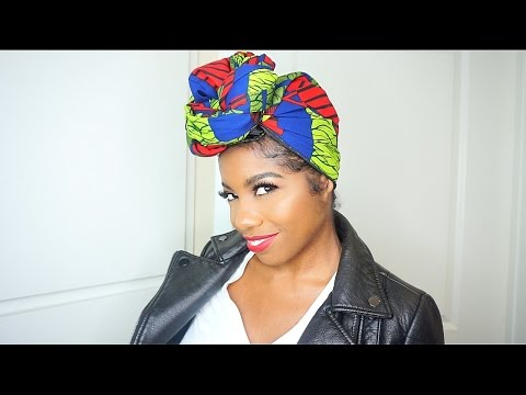 How To Tie A SATIN LINED Head Wrap (HIGHLY REQUESTED)