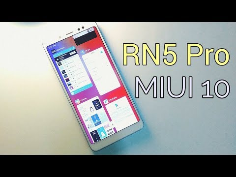 Xiaomi Redmi Note 5 Pro with MIUI 10 ( Download Link )