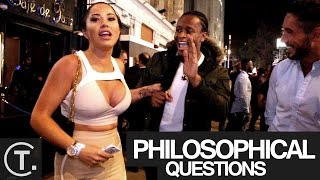 Asking Drunk People Philosophical Questions