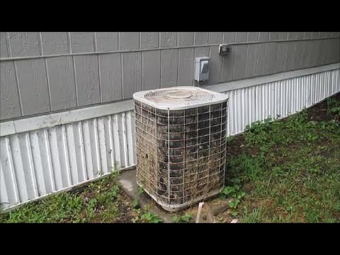 How To Clean An AC Condenser Coil
