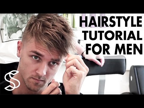 Men's Hairstyle Tutorial - Fringe Bangs Texture Undercut - By Vilain Gold Digger