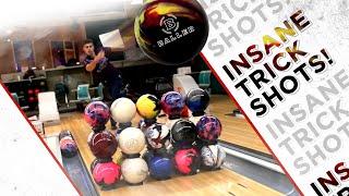 "PBA's Bowling Trick Shots feat. Columbia 300 ""BALLER"" Bowling Ball Review"