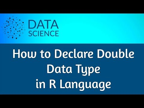 How to Declare Double Data Type in R Language