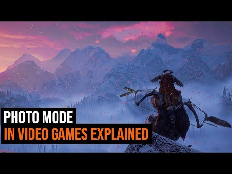 Photo Mode In Video Games Explained