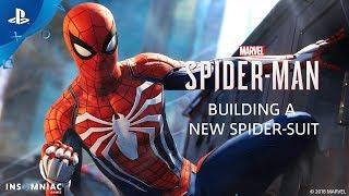 Building a New Spider-Suit - Inside Marvel's Spider-Man | PS4