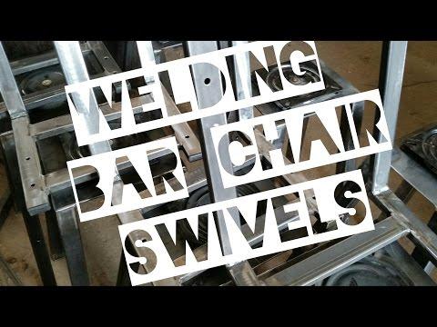 Welding Bar Chair Swivels - Works on Bar Stools