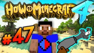 CHICKEN CANNON PRANK! - HOW TO MINECRAFT S4 #47