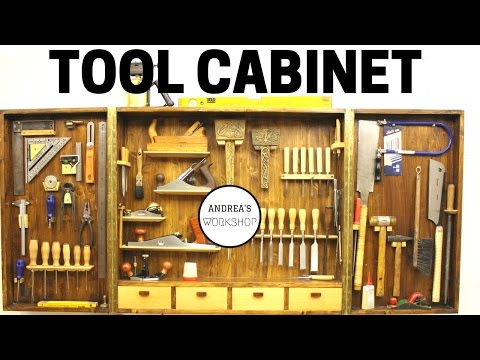 Making a Hand Tool Cabinet Organizer