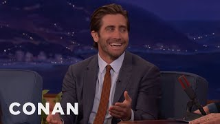 Jake Gyllenhaal Is Very Into High-End Toilets - CONAN on TBS
