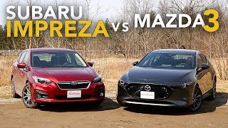 2019 Subaru Impreza vs Mazda3: Which AWD Hatchback is Better?