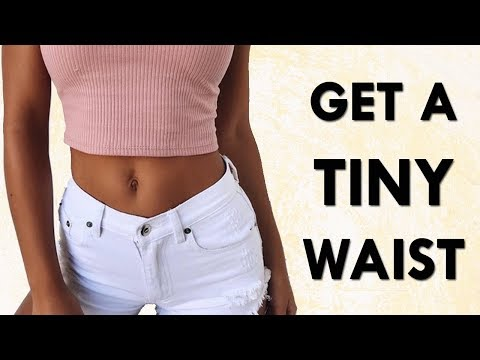 How To Get A TINY Waist (Flat Stomach Too) | 15 Minutes To A Smaller & Tighter Midsection!