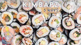 Download 5 Lunchable Fusion KIMBAP for hungry #BuzyBeez Video