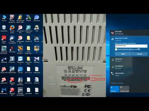 How to get Network Security Key ( Password SSID Wifi)