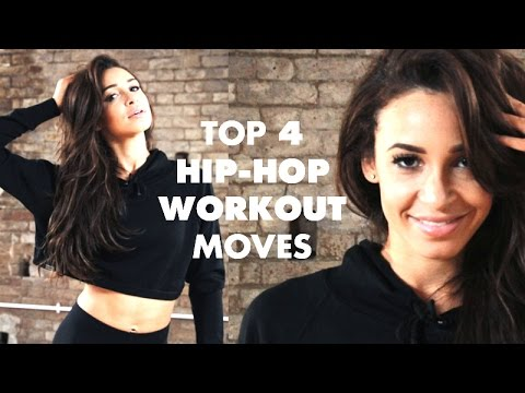 WORKOUT: Hip-Hop Inspired Full Body Toning Top 4 Moves | Danielle Peazer (compilation)