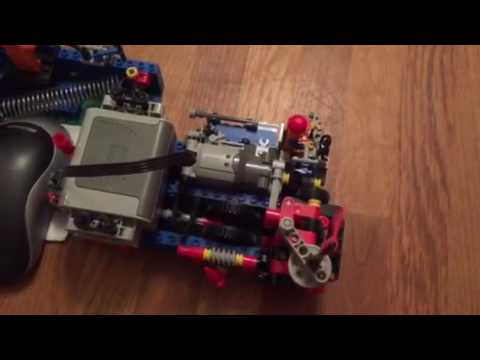 Lego mouse mover