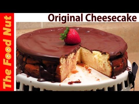 Homemade Baked Cheesecake Recipe - Original, Classic, Easy Recipe With Farmers Cheese | The Food Nut