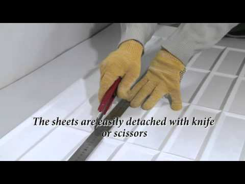 How to install PVC wall panels