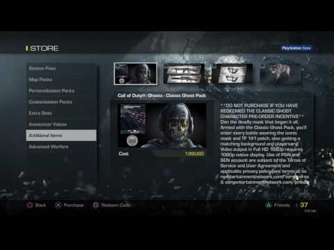 Call of Duty® Ghost mod menu