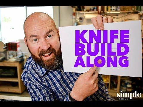 Let's make a knife TOGETHER!  - Knife maker's build along -