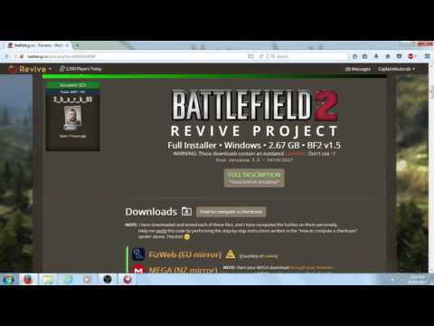 BF2 revive how to install free 2017 OUTDATED!