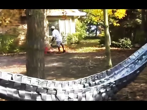 Duct Tape Approved Use #561 - DIY Hammock