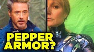 Avengers 4 - PEPPER POTTS ARMOR Revealed!