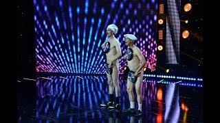 """Jurații au rămas mască de îndată ce artiștii au urcat pe scenă: Bucătarii """"Naked Lunch"""""""