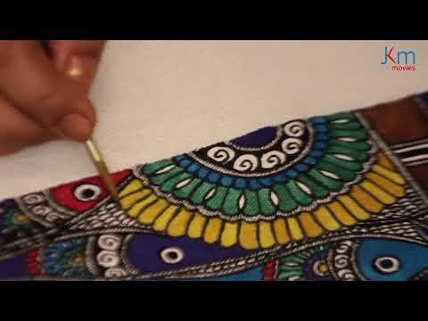 Madhubani Art with Bharti Dayal | Painting 2 | JKM Movies