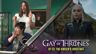 The Kween's Juicefast with Carla Jimenez - Gay Of Thrones S7 E3 Recap