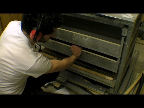 Deep Workbench Drawers / Sliding Ball Bearing Runners / Installation