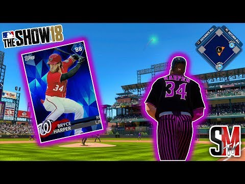 How Far Did Bryce Harper Just Hit It!? MLB The Show 18 Gameplay