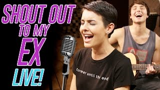 """""""SHOUT OUT TO MY EX"""" LITTLE MIX COVER BY LISA CIMORELLI & WESLEY STROMBERG