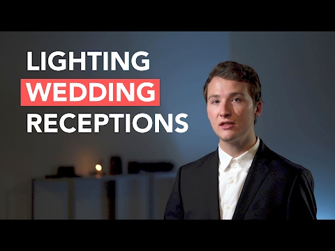 How to Light Reception Speeches for Wedding Filmmakers